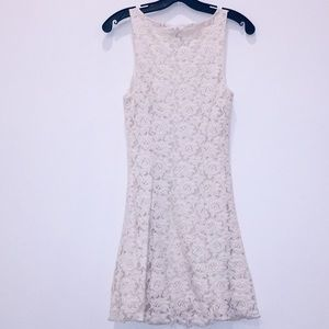 Forever 21 Dresses - Front button lace sleeveless dress